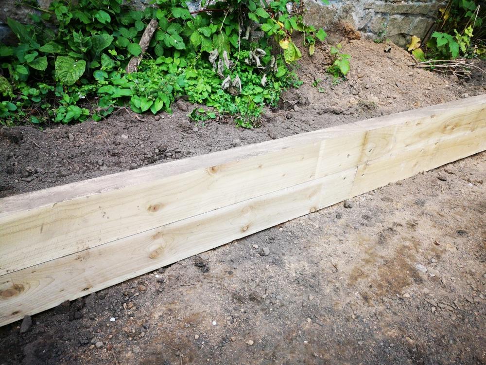 10 Easy Garden Edging Installation, Wooden Garden Borders