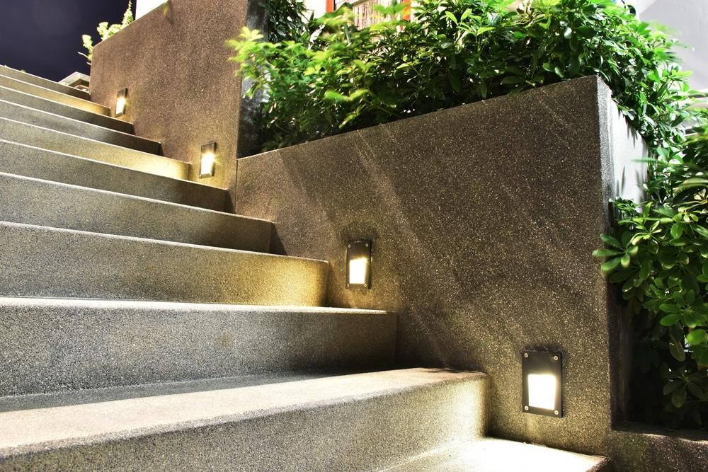 stairway lighting illuminating the way